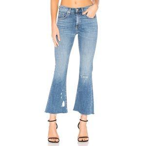 New Rag & Bone Cropped flare jeans